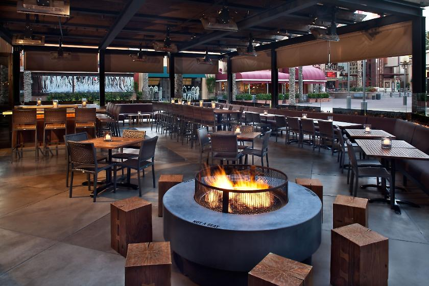 P.F. Changs - Irvine California - Fire Pit - Story Construction, LLC. - P.F. Changs - Irvine California